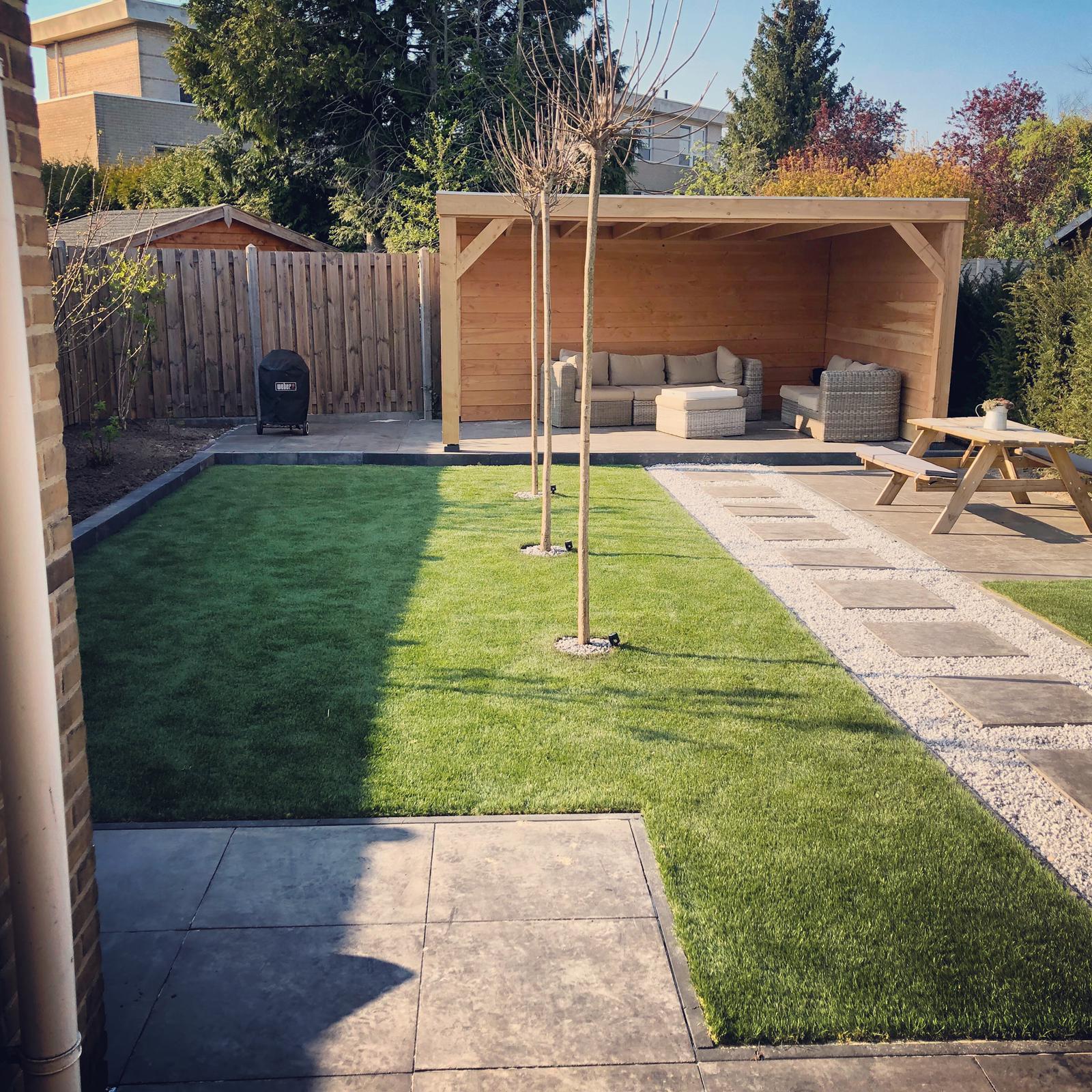 Nieuwe tuin door Mitch Tuinen 3