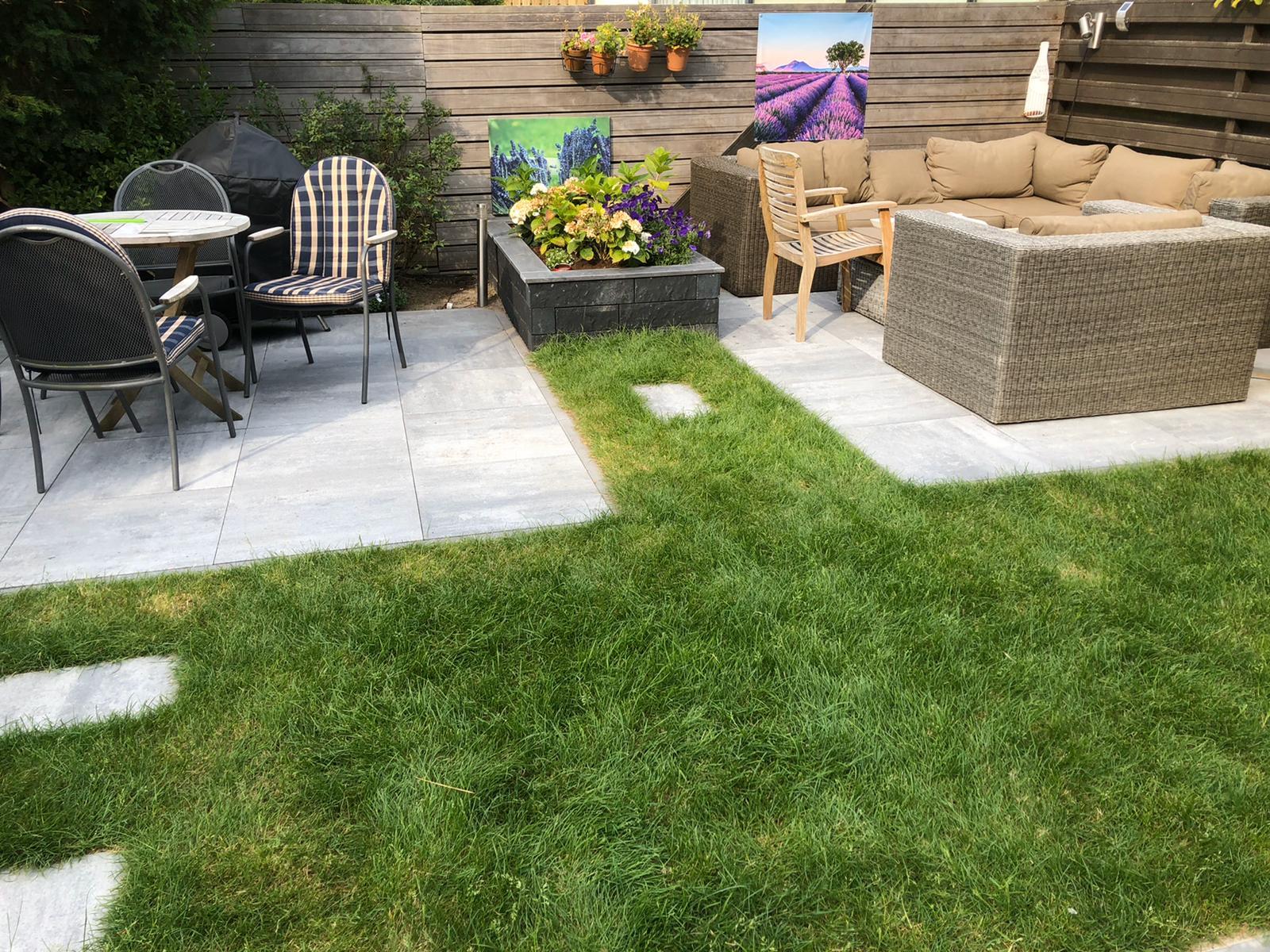 Nieuwe tuin door Mitch Tuinen 6